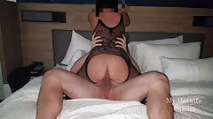4K Dare- Hubby Watches Hotwife Ride Young Stranger Bareback
