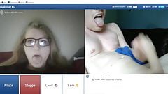 chatroulette – girl disappointed because I didnt do a facial