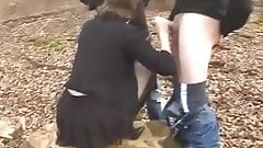 Dogging – Wife in Forest
