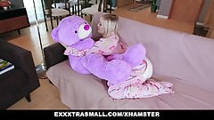 ExxxtraSmall – Small Tits Blond Gets Rocked By Huge Cock