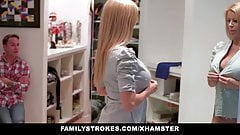 familyStrokes – Step Mom fucks stepson while dad is away