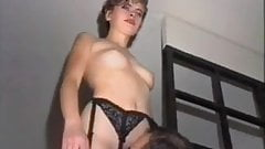 Hairy mature in stockings – Austrian
