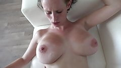 next door mature with  huge natural tits in casting fuck