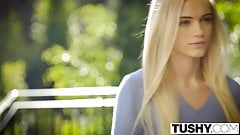 TUSHY First Anal For Beautiful Blonde Alex Grey