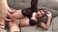 Young Austrian Model gets fucked and creampied